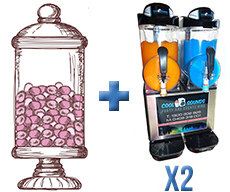 Candy Bar and 2x Twin Slushie Deal