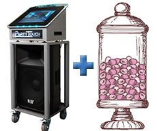 Digital Karaoke Jukebox and Candy Bar package