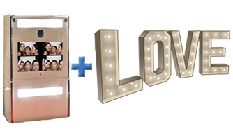 Signature Booth Sign of Love Package