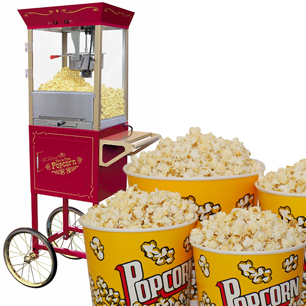Popcorn and Cart