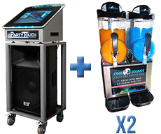 Digital-Karaoke-Jukebox-and-2x-Twin-Slushie-Deal