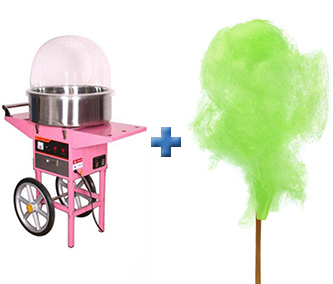Fairy-Floss-and-machine